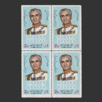 تمبر انقلاب سفید (6) 1349 - محمدرضا شاه