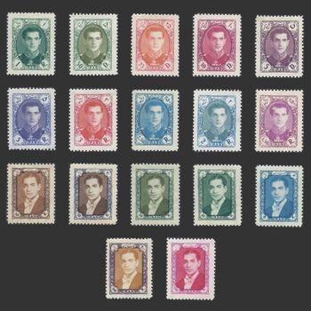 تمبر سری هفتم پستی 1336 - محمد رضا شاه
