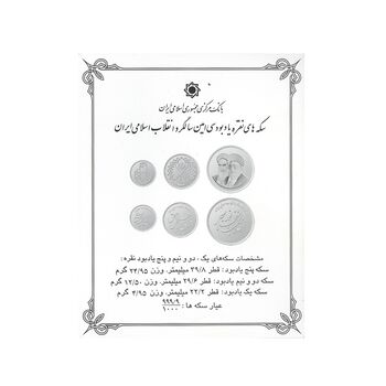 سری یادبود سی امین سالگرد پیروزی انقلاب اسلامی ایران - MS64 - جمهوری اسلامی