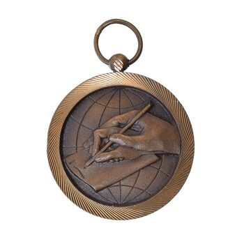 مدال برنز سواد آموزی - MS62 - محمد رضا شاه
