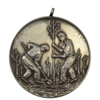 مدال یادبود وزارت کشاورزی و منابع طبیعی - EF45 - محمد رضا شاه