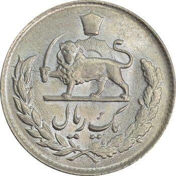 سکه 1 ریال 1334 - MS65 - محمد رضا شاه