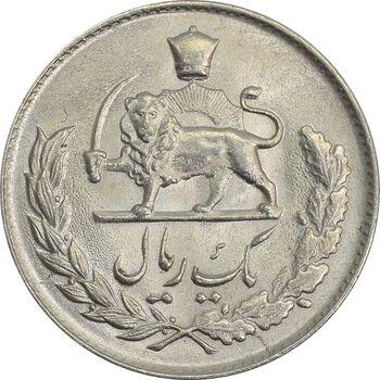 سکه 1 ریال 1334 - MS63 - محمد رضا شاه