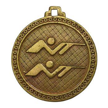 مدال آویز بازی های آسیایی تهران 1353 (تیراندازی) - MS63 - محمد رضا شاه