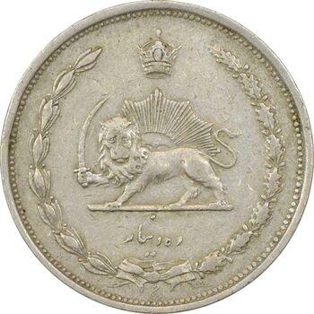 سکه 10 دینار 1310 - EF40 - رضا شاه