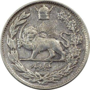 سکه 1000 دینار 1306 تصویری - VF30 - رضا شاه