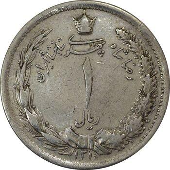 سکه 1 ریال 1310 - EF40 - رضا شاه
