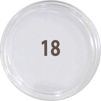 کاور سکه پلاستیکی - سایز 18