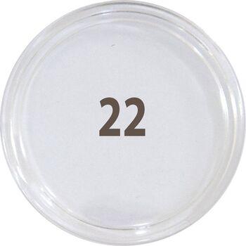 کاور سکه پلاستیکی - سایز 22