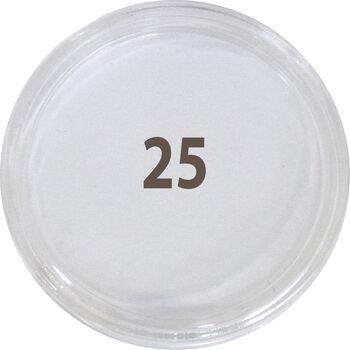 کاور سکه پلاستیکی - سایز 25 - ذره بینی