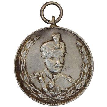 مدال نقره ثور 1303 - EF45 - رضا شاه