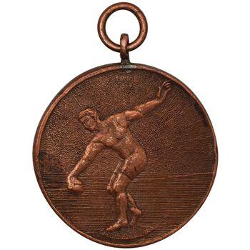 مدال آویز ورزش پرتاب وزنه 1318 - VF35 - رضا شاه