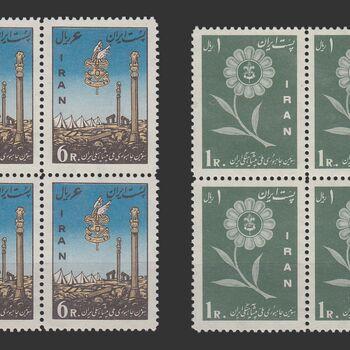 تمبر جمبوری پیشاهنگی ایران 1339 - محمدرضا شاه