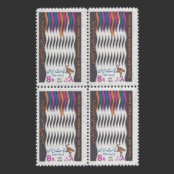 تمبر جشنواره فیلم 1354 - محمدرضا شاه