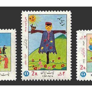 تمبر هفته کودک (6) 1353 - محمدرضا شاه