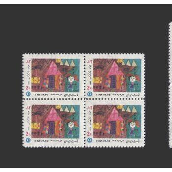 تمبر هفته کودک (7) 1354 - محمدرضا شاه
