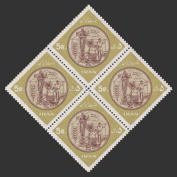 تمبر خانه های انصاف 1345 - محمدرضا شاه