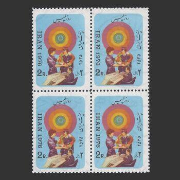 تمبر روز پلیس (2) 1355 - محمدرضا شاه