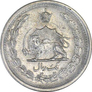 سکه 1 ریال 1310 - EF45 - رضا شاه