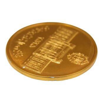 لوح یادبود سایز 40 گرمی بانک ملی (نمونه) - AU - محمد رضا شاه