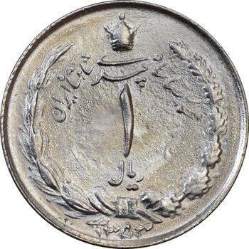 سکه 1 ریال 1353 (تاریخ بزرگ) - MS61 - محمد رضا شاه