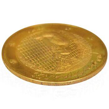 مدال برنز سایز 25 گرمی شاه در حرم (نمونه) - PF63 - محمد رضا شاه