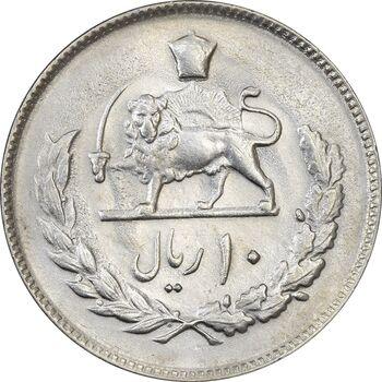 سکه 10 ریال 1352 (عددی) - MS61 - محمد رضا شاه