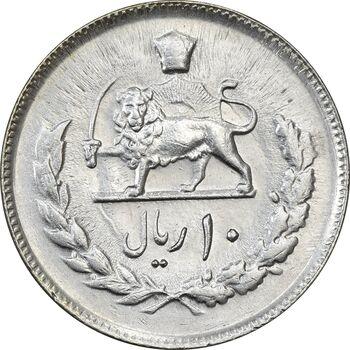 سکه 10 ریال 2535 - MS61 - محمد رضا شاه