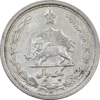 سکه 1 ریال 1313 - AU58 - رضا شاه
