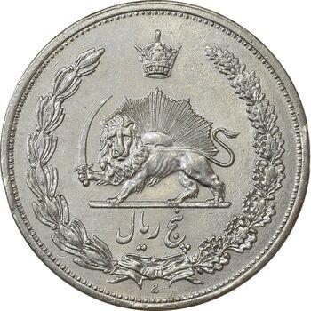 سکه 5 ریال 1311 - AU55 - رضا شاه