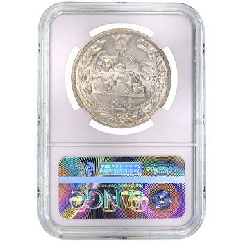سکه 5000 دینار 1306L تصویری - MS62 - رضا شاه