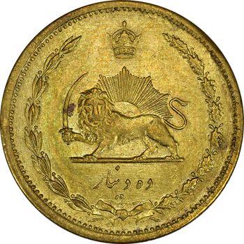 سکه 10 دینار 1319 - MS62 - رضا شاه