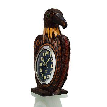 ساعت رومیزی کوکی با نگهدارنده ی چوبی