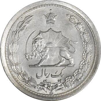 سکه 1 ریال 1310 - MS62 - رضا شاه