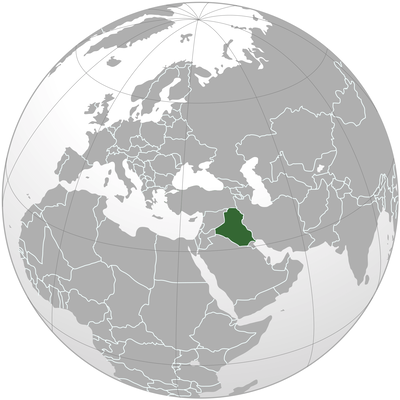 نقشه عراق - iraq map