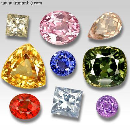 تراش سنگ های جواهر و انواع آن